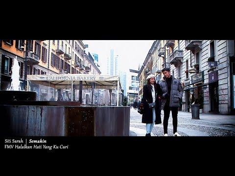 (OST HALALKAN HATI YANG KU CURI) Siti Sarah - Semakin (Lyric Video)