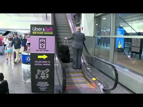 First Round Of Rideshare Changes In Effect At Boston's Logan Airport