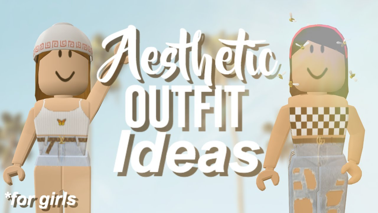 Roblox 5 Aesthetic Cheap Outfit Ideas 2019 Girls Youtube
