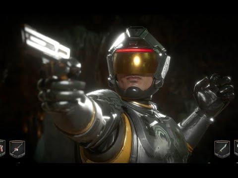 Robocop vs Kotal Kahn, Cetrion,Subzero - Mortal Kombat 11 Indonesia |
