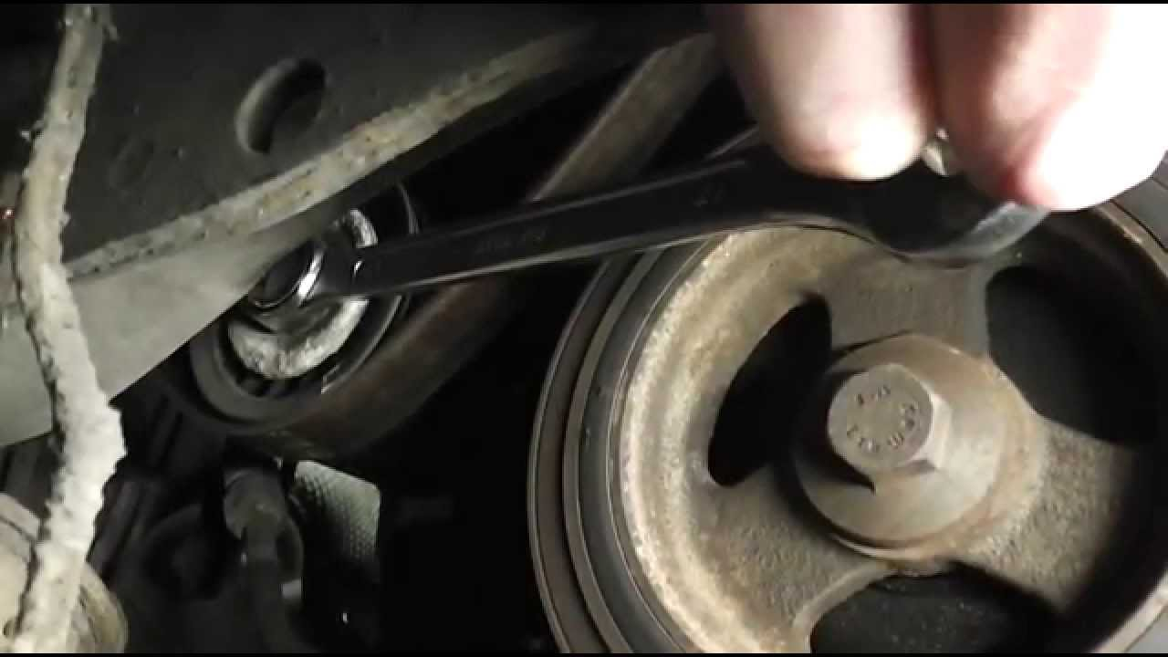 maxresdefault ford focus serpentine auxiliary belt change youtube