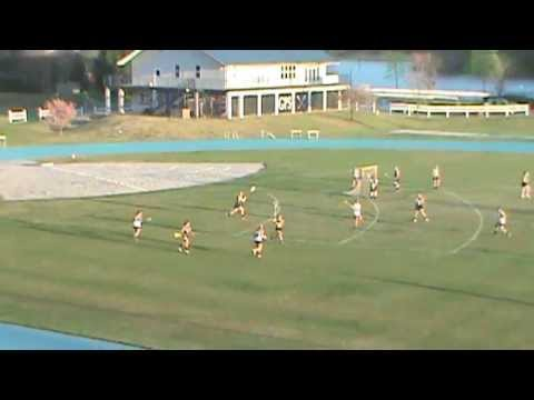 Women's Lacrosse Trick Shot Behind the Back Score - Chattanooga, TN