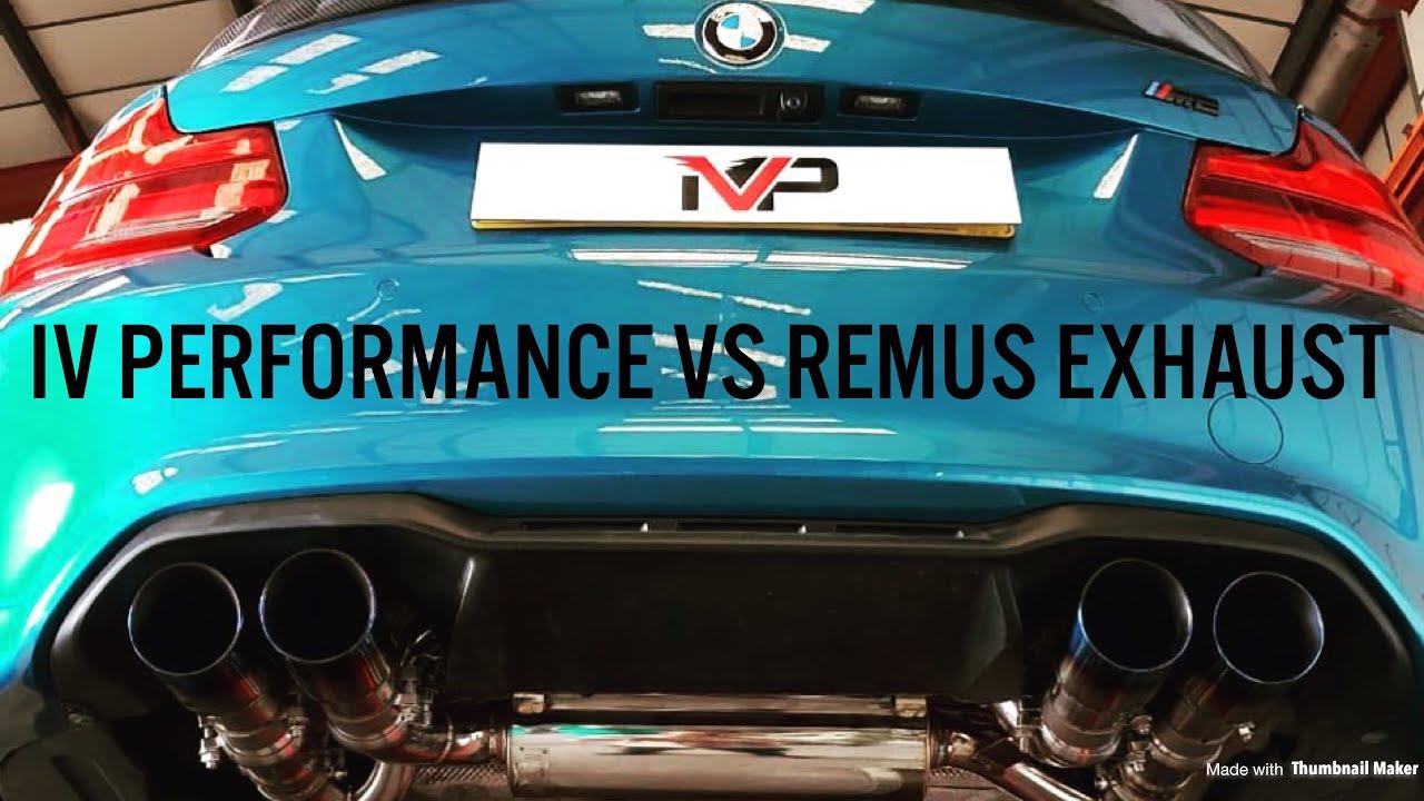 BMW M2 Rev battle - Remus vs IV Performance exhaust