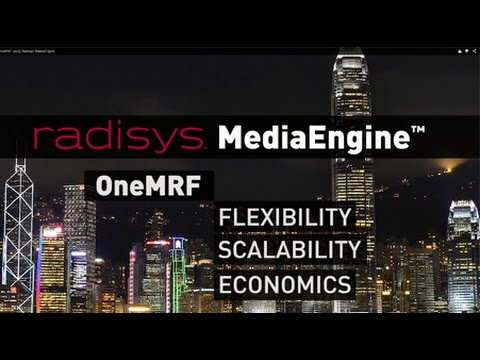 Deploying OneMRF using Radisys MediaEngine