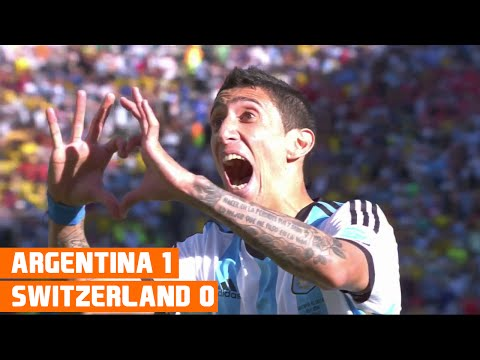 Argentina vs Switzerland (1-0) World Cup 2014 Highlights
