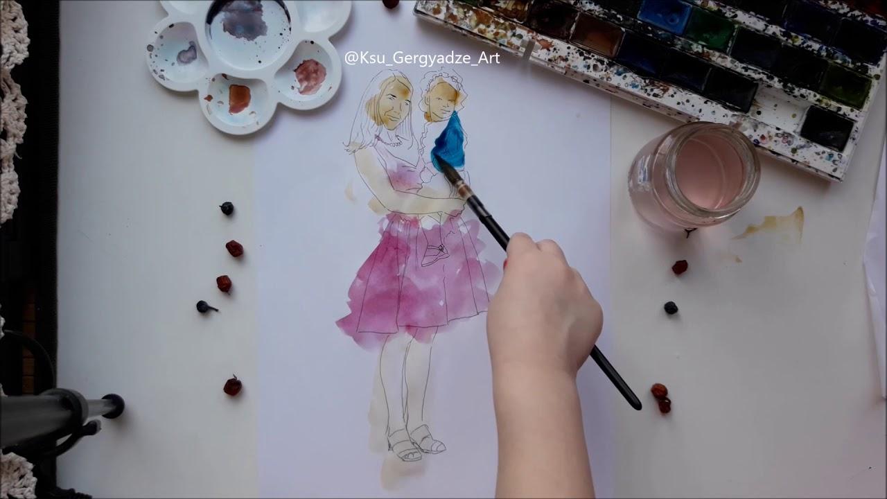 Как в фотошопе сделать раскраску фото 648
