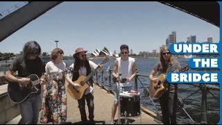 Grouplove - 'Tongue Tied' - Under the Bridge Session