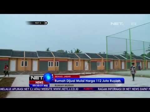 Presiden Jokowi Resmikan Rumah Murah Bersubsidi - NET5