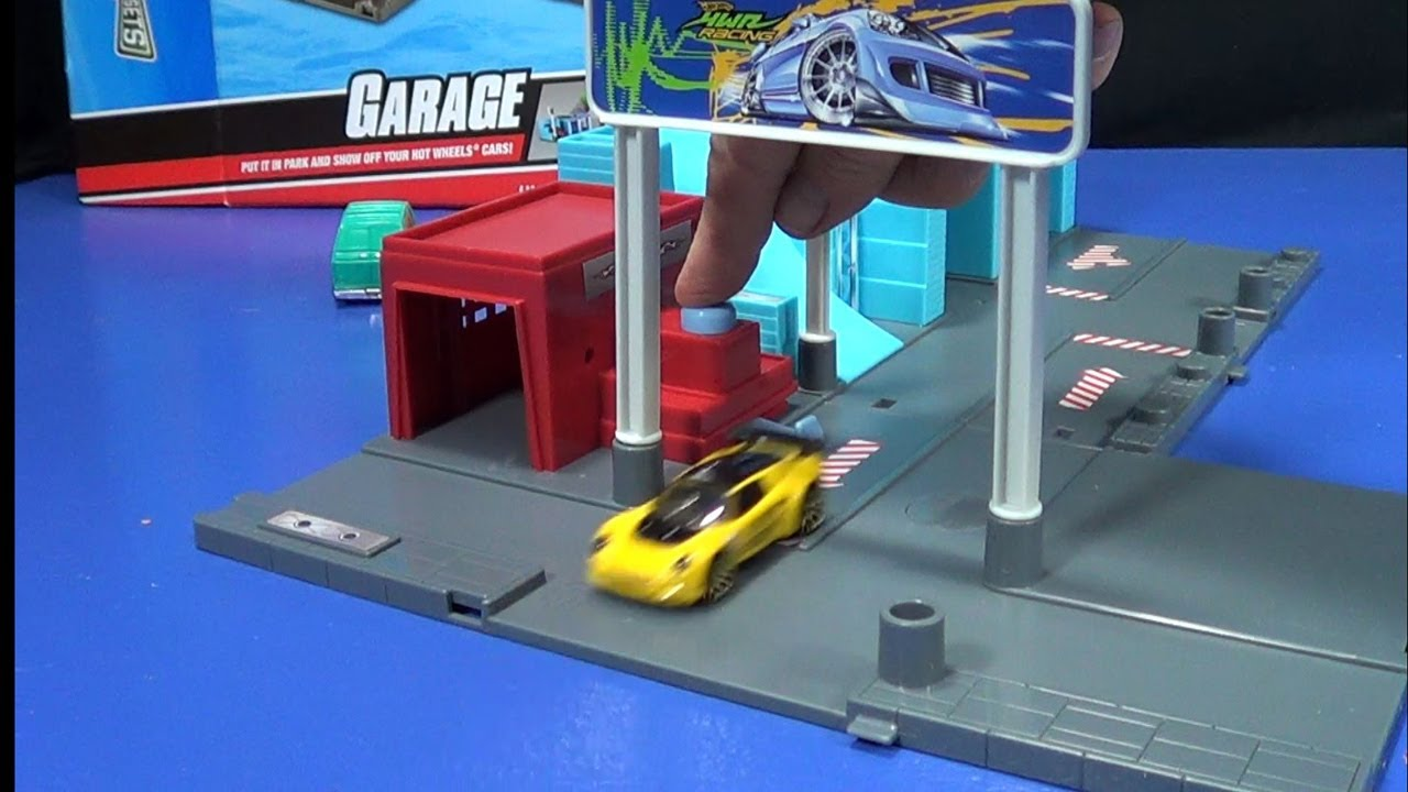 Hot Wheels City Sets Garage From Around 2010 Youtube