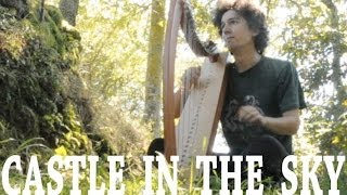 Castle in the sky soundtrack cover - Celtic Harp - The Girl who fell from the sky - Joe Hisaishi