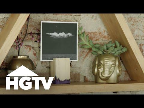 DIY Photo Blocks - HGTV