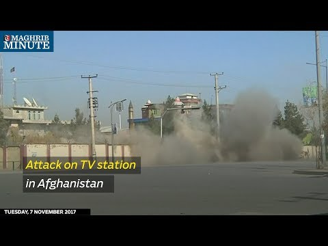 Attack on TV station in Afghanistan
