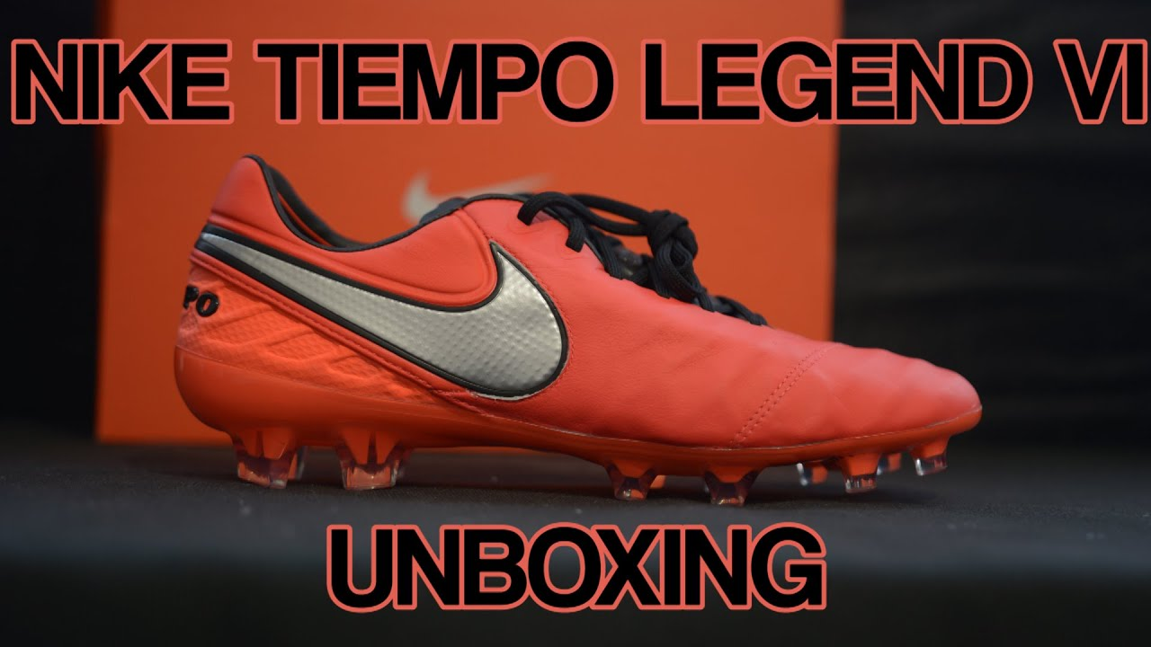 db6edf694 ... sweden nike tiempo legend vi unboxing metal flash pack footballerz  italy youtube bc2cb 20105