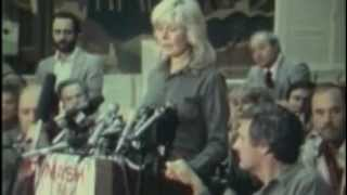 Hot Lips ( Loretta Swit) Part 1 MASH Final shoot news conference