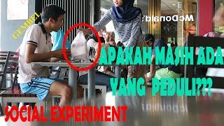 GEMBEL MINTA MAKANAN SISA!! SOCIAL EXPERIMENT INDONESIA Video