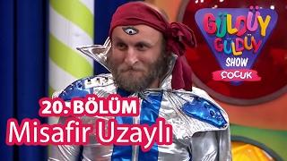 Güldüy Güldüy Show Çocuk 20. Bölüm, Misafir Uzaylı