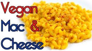 Vegan Creamy Mac & Cheese (Fat Free Optional) RICH BITCH