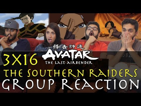 Avatar: The Last Airbender -  3x16 The Southern Raiders - Gr