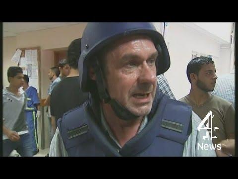 Paul Mason reports from the al-Shifa hospital in Gaza | Channel 4 News