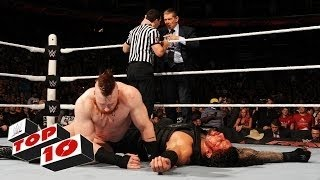 Top 10 Raw Moments  WWE Top 10, December 14, 2015