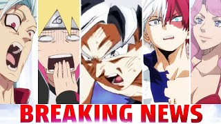 Politician ATTACKS DBZ & Anime, New 7 Deadly Sins Manga, My Hero Academia Anime, Most Watched Series
