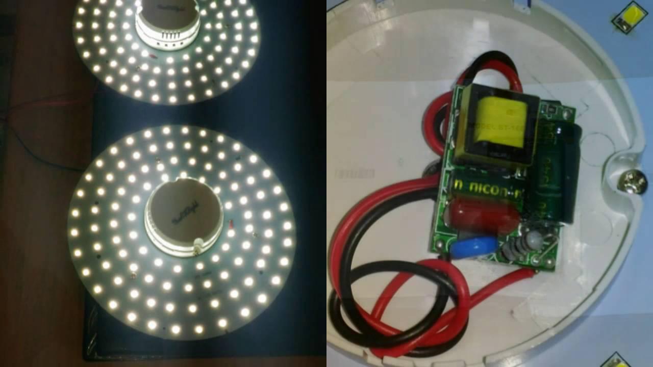 Plafoniere Led Per Alte Temperature : Sostituzione circolina neon w con pannello led gearbest
