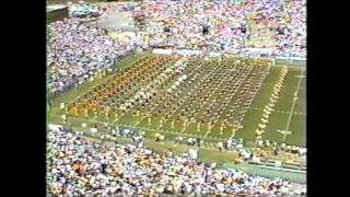 FSU Marching Chiefs 1987 - Pregame (Fanfare and Fight Song)