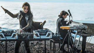 Giolì & Assia - #DiesisLive @Etna Volcano, Sicily [Electric Handpan]