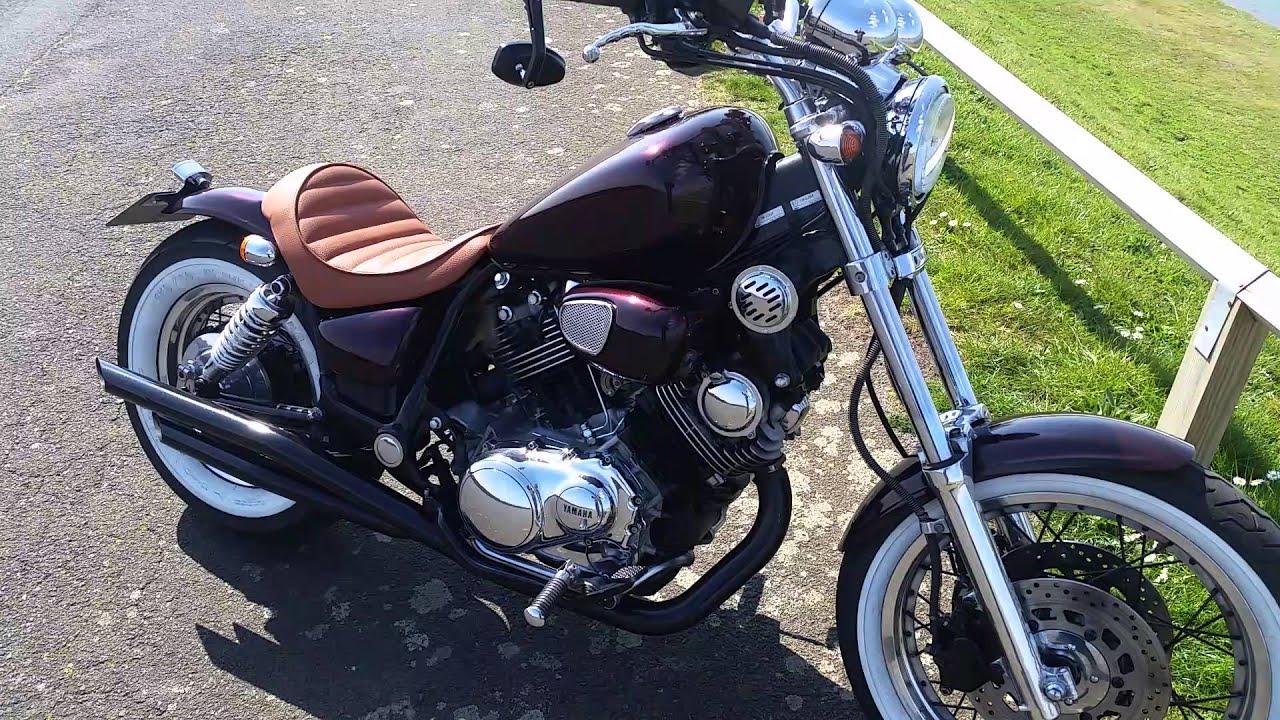 Harley Davidson Fxr >> Yamaha Virago XV750 Lowrider Bobber Custom Now SOLD - YouTube