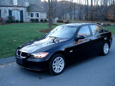 2007 bmw 328xi black great shape l k youtube. Black Bedroom Furniture Sets. Home Design Ideas