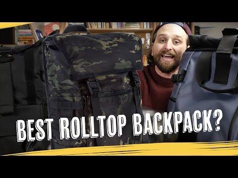 Best Rolltop Backpack!? — YNOT vs Wandrd