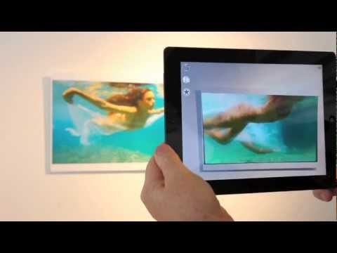 Summer Show Demo of Augmented Reality Art Powered by Aurasma