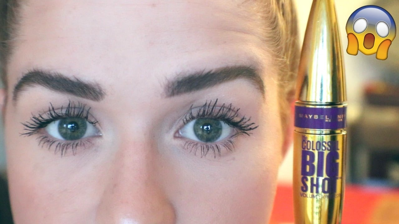 1f44534832d WORTH THE HYPE? Maybelline Big Shot Mascara: First Impression! - YouTube