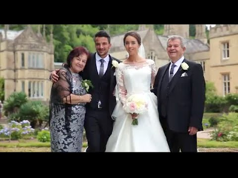 Peter Andre and Emily MacDonagh stunning intimate wedding footage