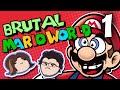 Brutal Mario World: Eating Dinosaurs - PART 1 - Grumpcade (Ft. Markiplier)