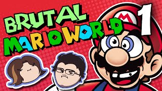 Brutal Mario World: Eating Dinosaurs - PART 1 - Grumpcade (Ft. Markiplier)