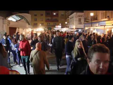 📰 #NOTICIAS Algeciras celebra los Tosantos con un ambiente excepcional en la plaza de abastos