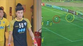 Thủ môn Bùi Tiến Dũng U23 Việt Nam mắc 'sai lầm' lớn khiến FLC Thanh Hóa nhận cái kết 'đau đớn'