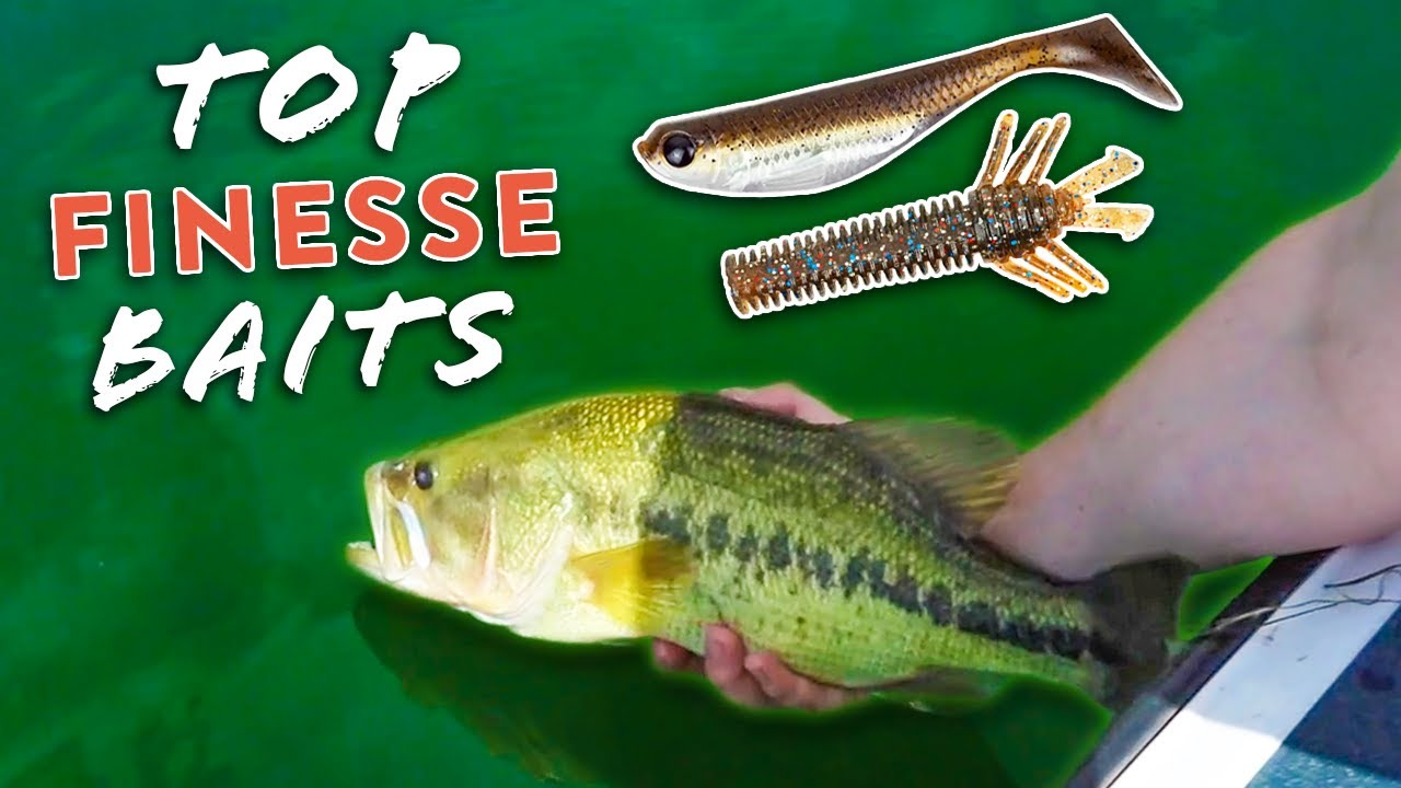 3 Finesse Baits You NEED To Catch MORE Bass This Summer!!