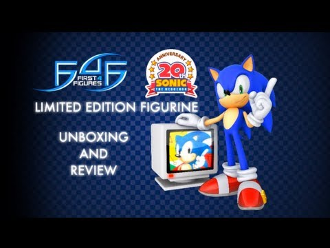 First4Figures Sonic the Hedgehog 20th Anniversary Statue Unboxing/Review
