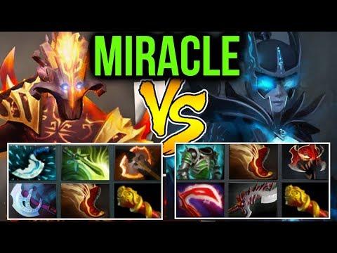 Miracle- Dota2 7.07b [Juggernaut] vs PA & -45 Armor Reduction Strat