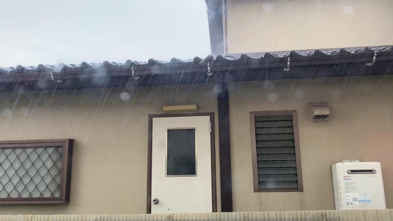 ゲリラ豪雨?