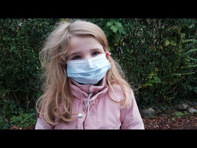 Sofia bliver CORONATESTET😷Fia før & efter hun er blevet testet 🤗