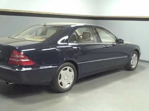 2001 Mercedes Benz S Class S600 Extremely Low Miles