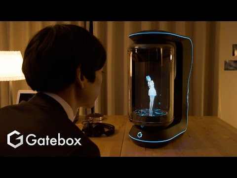 "Gatebox - Promotion Movie ""OKAERI""_english"