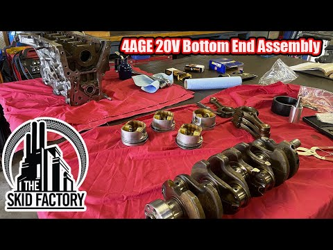 4AGE 20V AW11 MR2, The Poor Man's Ferrari [EP4] - THE SKID FACTORY