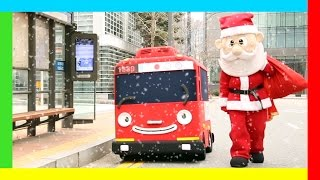 a suspicious santa l tayo in real life 6 l tayo the little bus