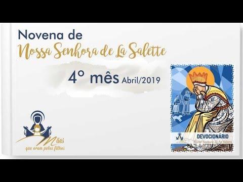 Mês 04 (Abril/19) - Novena de Nossa Senhora de La Salette (Devocionário)