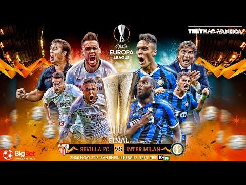 [NHẬN ĐỊNH] Soi kèo chung kết Europa League: Sevilla - Inter Milan (2h00 ngày 22/8). Trực tiếp K+PM
