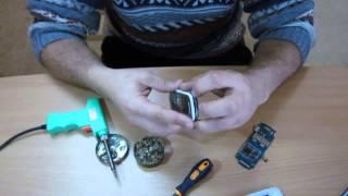 Ремонт телефона Samsung 1200(Замена микрофона. Подписывайтесь на мой канал где будет много видео на обзоры, тесты, ремонты, опровержения...., 2015-12-01T11:57:32.000Z)